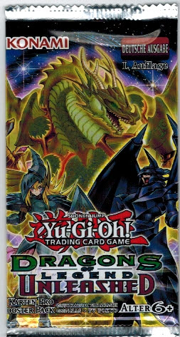 Booster: YuGiOh Dragons Legend Unleashed